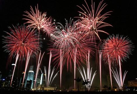 Happy New Year! Source: Wikipedia.
